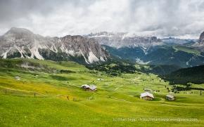 Dolomiti, Secada