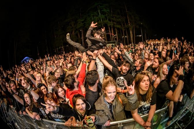 DEVILSTONE Open-Air 2015 festival @ Anykšciai, Lithuania