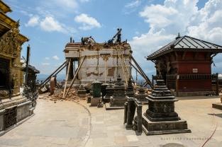 purustused Swayambhunath templis