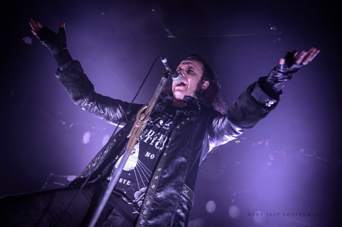 Moonspell @ club Tapper